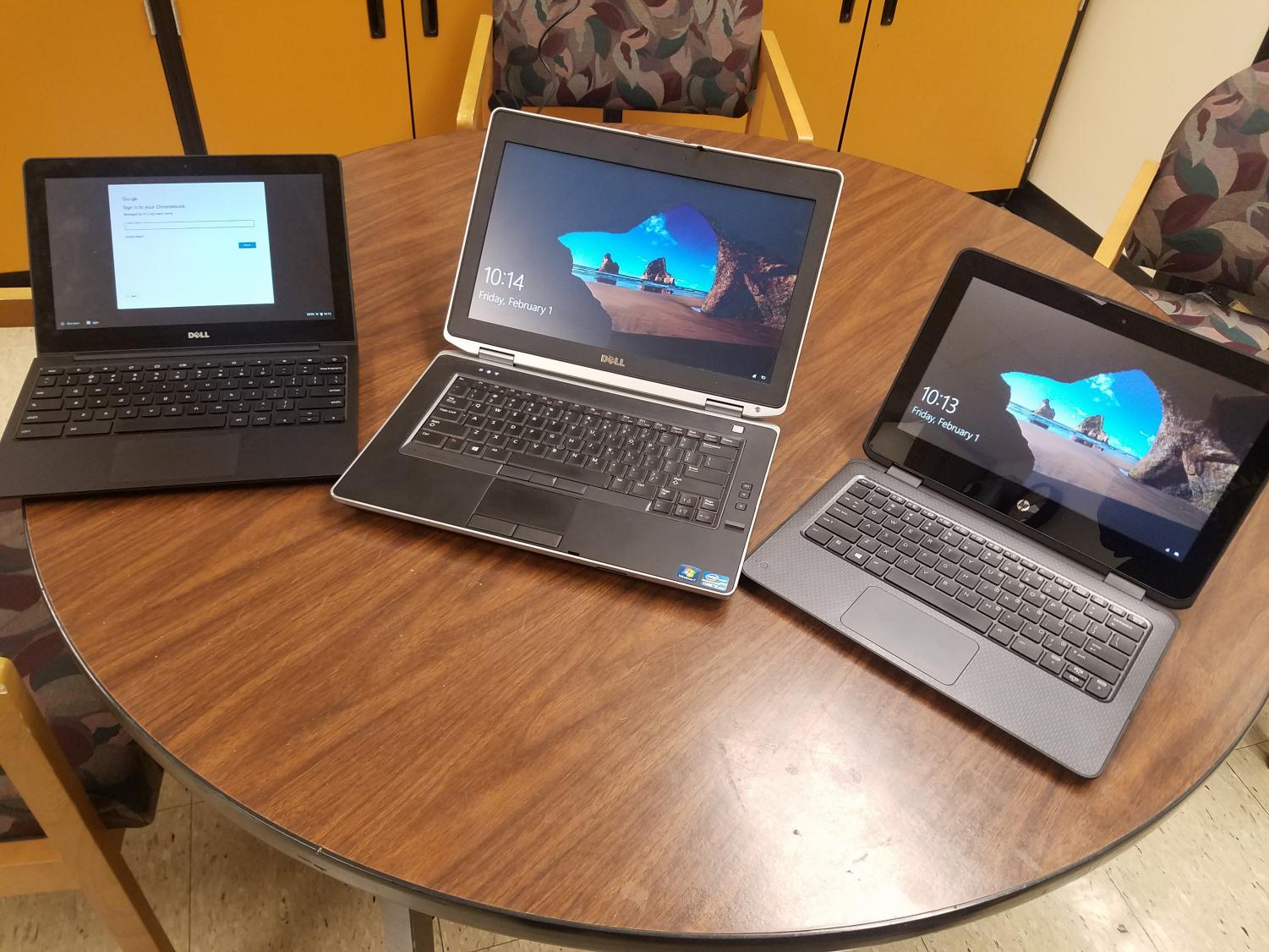 Why three different types of laptops? This questions, and others, are answered in the article.