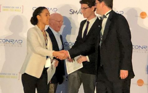 Spartans Win Power Pitch Conrad Foundation Top Prize!
