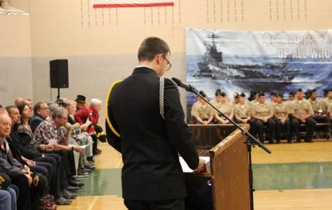 What You Missed at This Year's Veteran's Day Assembly