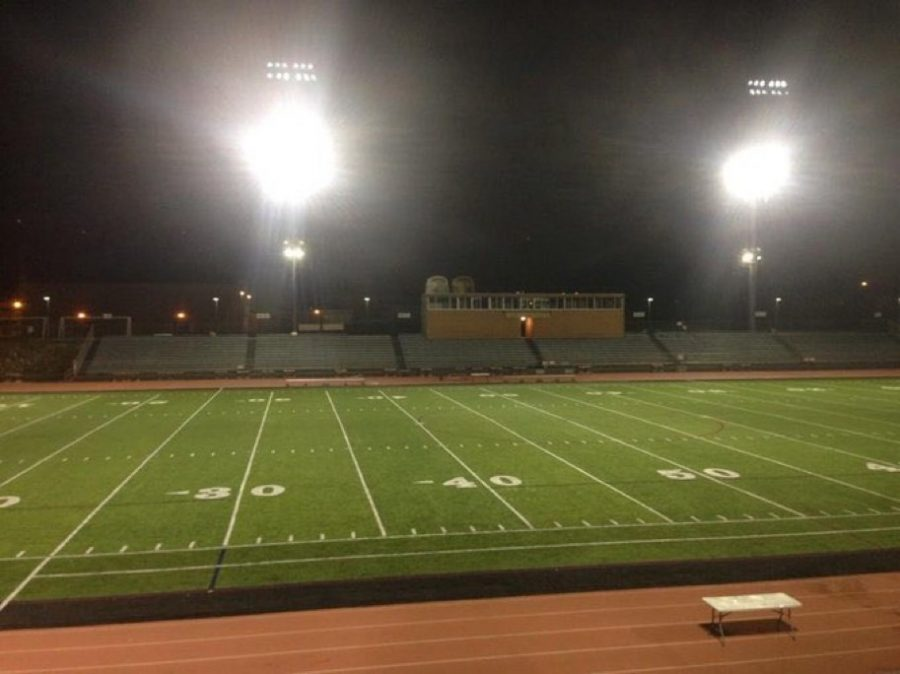 Garry Berry Stadium will leave their field lights on in order to participate int he statewide challenge called