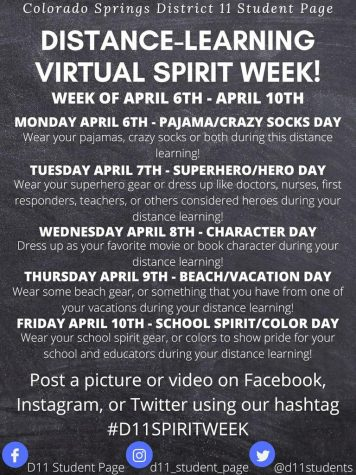 Spirit Week is Upon Us