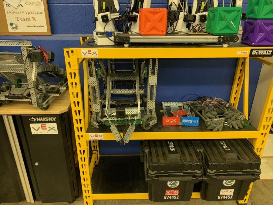 Robotics storge area!